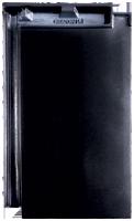 Creaton Domino fekete üvegmázas tetőcserép