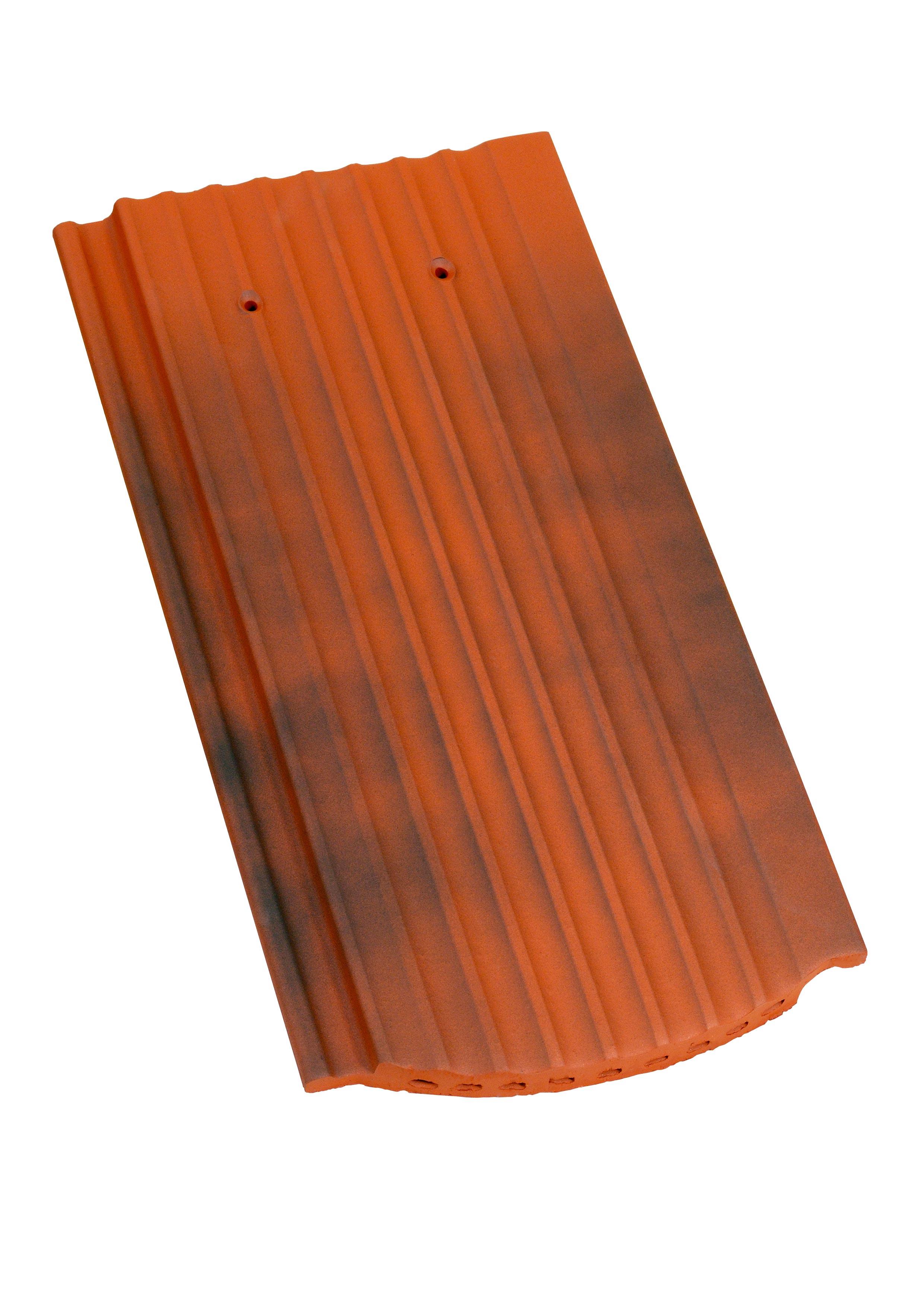 Creaton Hortobágy Profil Hornyolt szegmensvágású antik engóbozott tetőcserép
