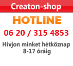 Creaton-shop hotline