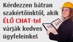 Élő chat szolgáltatás